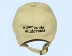 Alone in the Wilderness hat - back