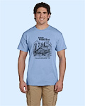 Alone in the Wilderness blue Tshirt