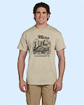Alone in the Wilderness sand Tshirt