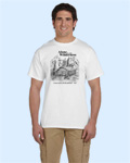 Alone in the Wilderness white Tshirt